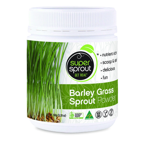 Super Sprout Organic Barley Grass Sprout Powder - 150g