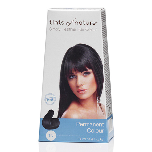 Tints of Nature Permanent Hair Colour - Natural Black 1N