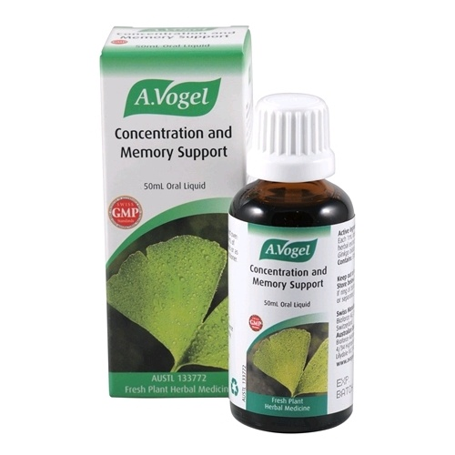 Vogel Concentration and Memory Support - 50mL